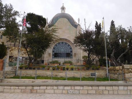 kostel Dominus Flevit