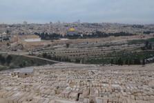 pohľad z Olivovej hory
