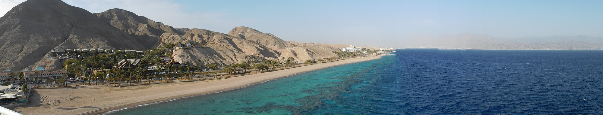 observation tower, the Red Sea and coral reef