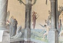 výzdoba hrobky G. Verdiho