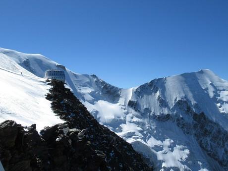 королева снега - турбаза Gouter