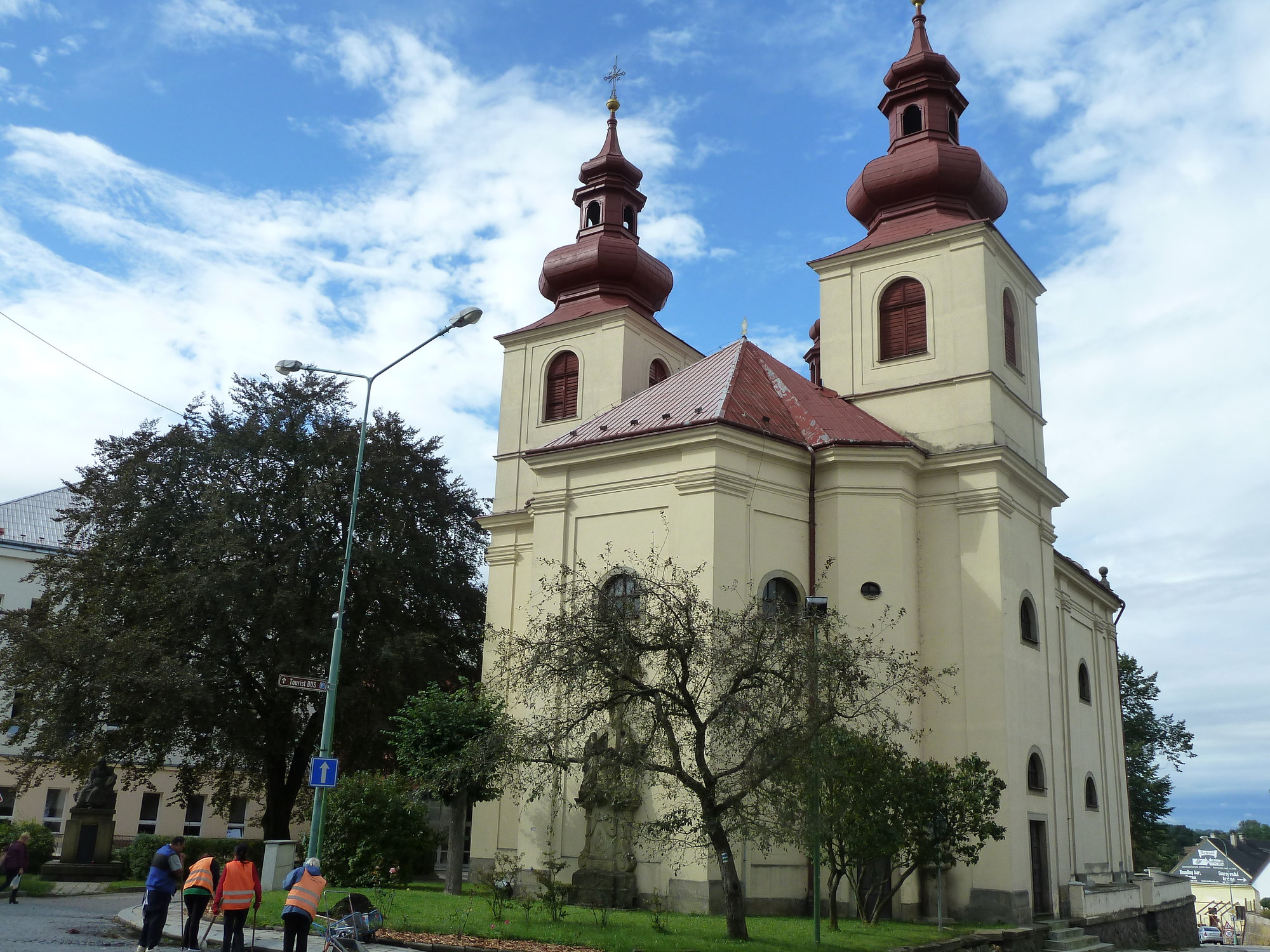 Vamberk, kostel sv. Prokopa