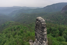 Maly Pravcicky Kuzel rock tower