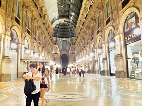 Gallerie Vittorio Emanuele II (Milan) - evening
