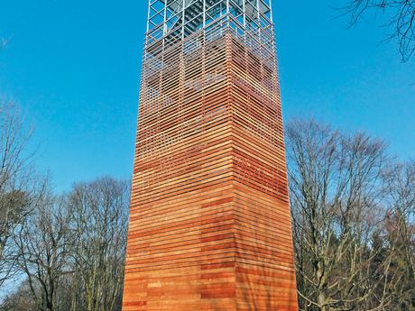 kniha Rozhledny, 2. díl – věž Dubeň
