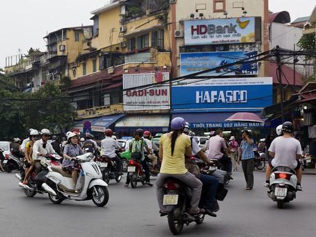 в городах в движении царит ужасный хаос