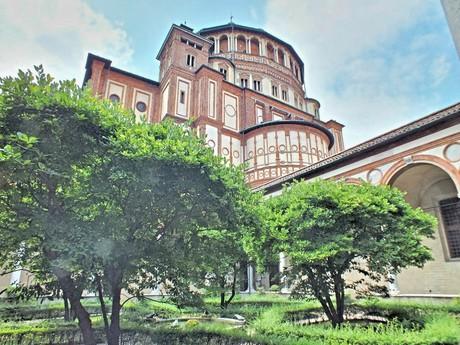 райский сад Santa Maria delle Grazie (Милан)