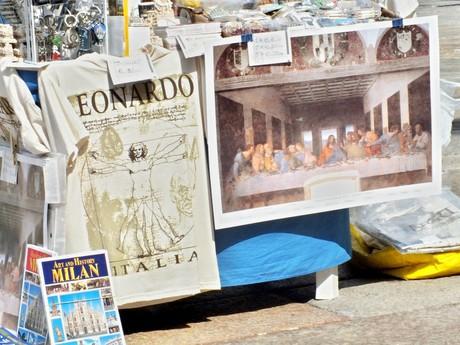 Santa Maria delle Grazie (Miláno) - predajné stánky
