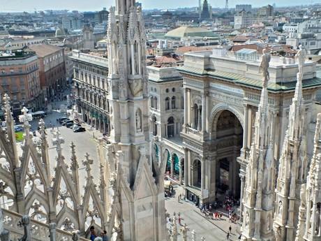 Duomo di Milano – rooftop view