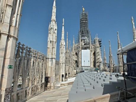 Duomo di Milano – rooftop vista