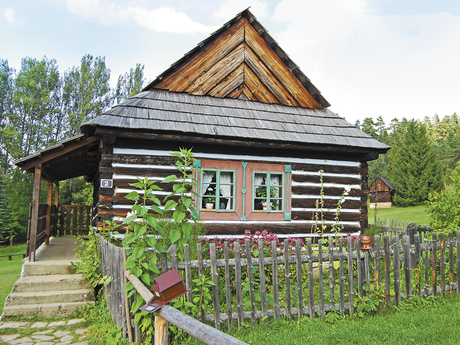 Spiš – tourist guide (dwelling from Velky Lipnik)