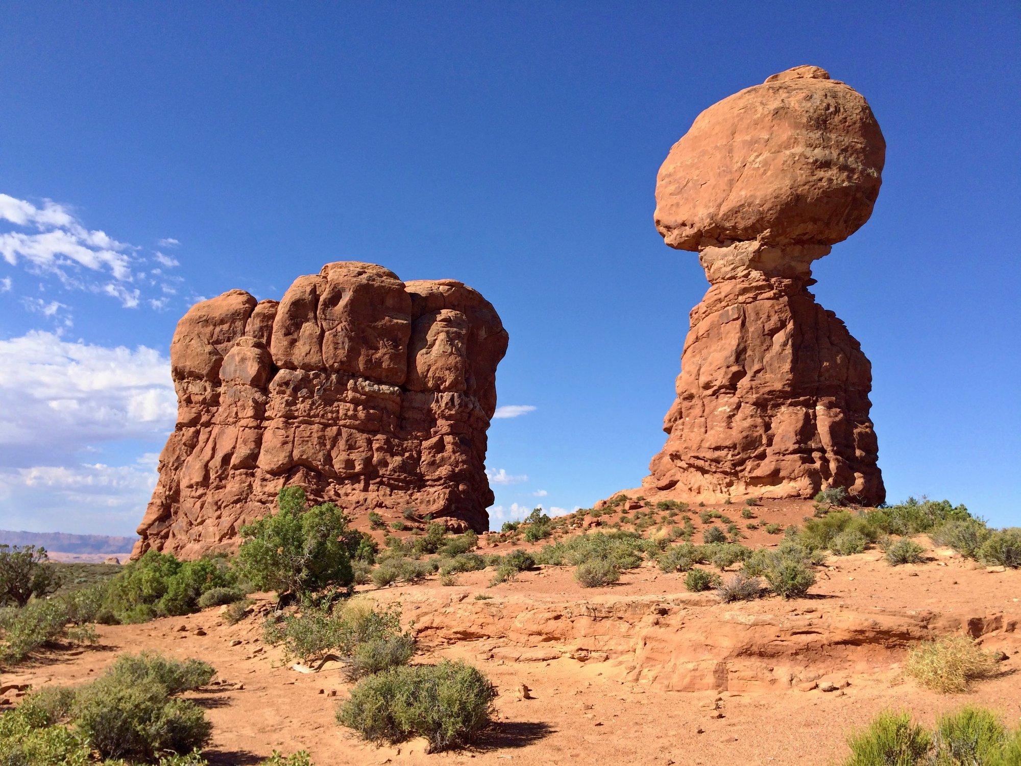Balanced Rock – результат эрозии
