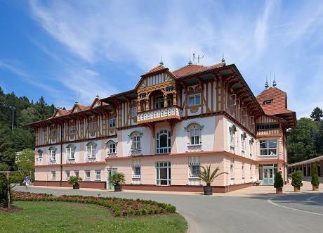 Luhačovice baths - Jurkovičův dům (Jurkovic's house)