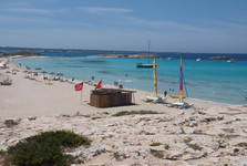 пляж Plaja de Ses Illetes