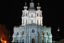Petersburg features many beautiful churches