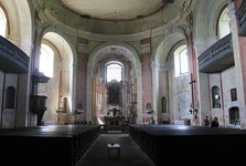 St Anne's Church, Viznov – interior