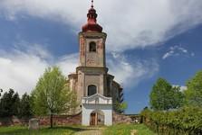 St Anna, in Viznov church
