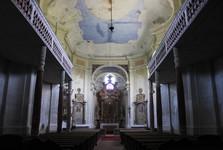 kostel svaté Markéty v Šonově – interiér