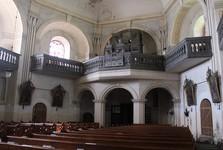 St Jacob's Major church in Ruprechtice, interior