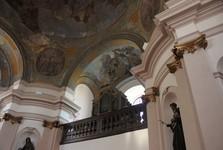 kostel svatého Václava v Broumově – интерьер