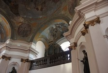 St Wenceslas Church, Broumov – interior
