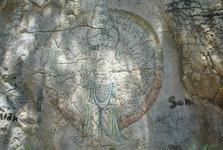 kresby na stěnách Atlantisu