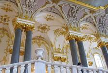 samotné interiéry Ermitáže sú umeleckým dielom
