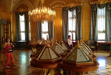 one of halls in the Hermitage