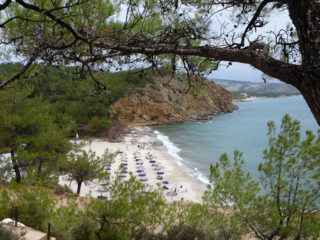 Thassos, Metalia Beach