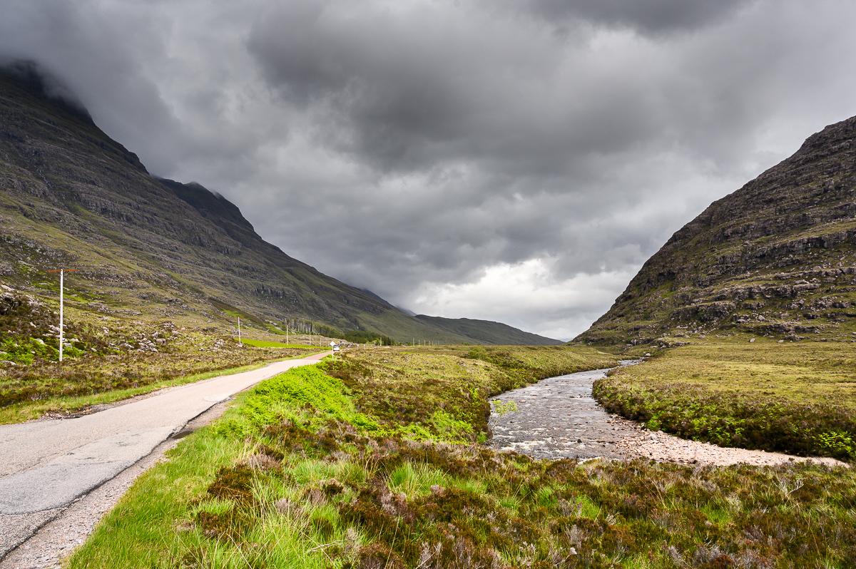 Beinn Eighe and Torridon River