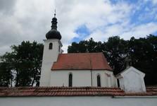 kostel v Domaníně