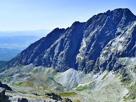 Велицкая долина и массив Герлаховского Щита