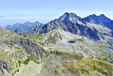 вид с Выходной Высокой на Вельку Студену долину