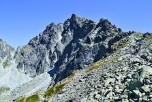 Выходна-Высока при виде из Литворой долины