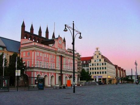ратуша, Neuer Markt (Росток)