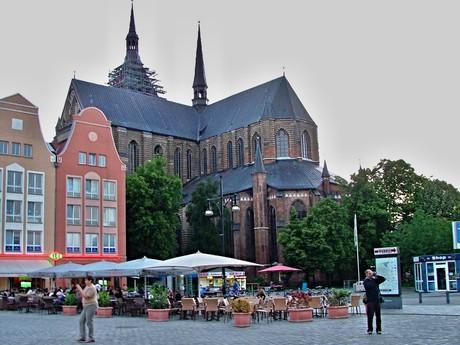 Marienkirche z Neuer Markt (Rostock)