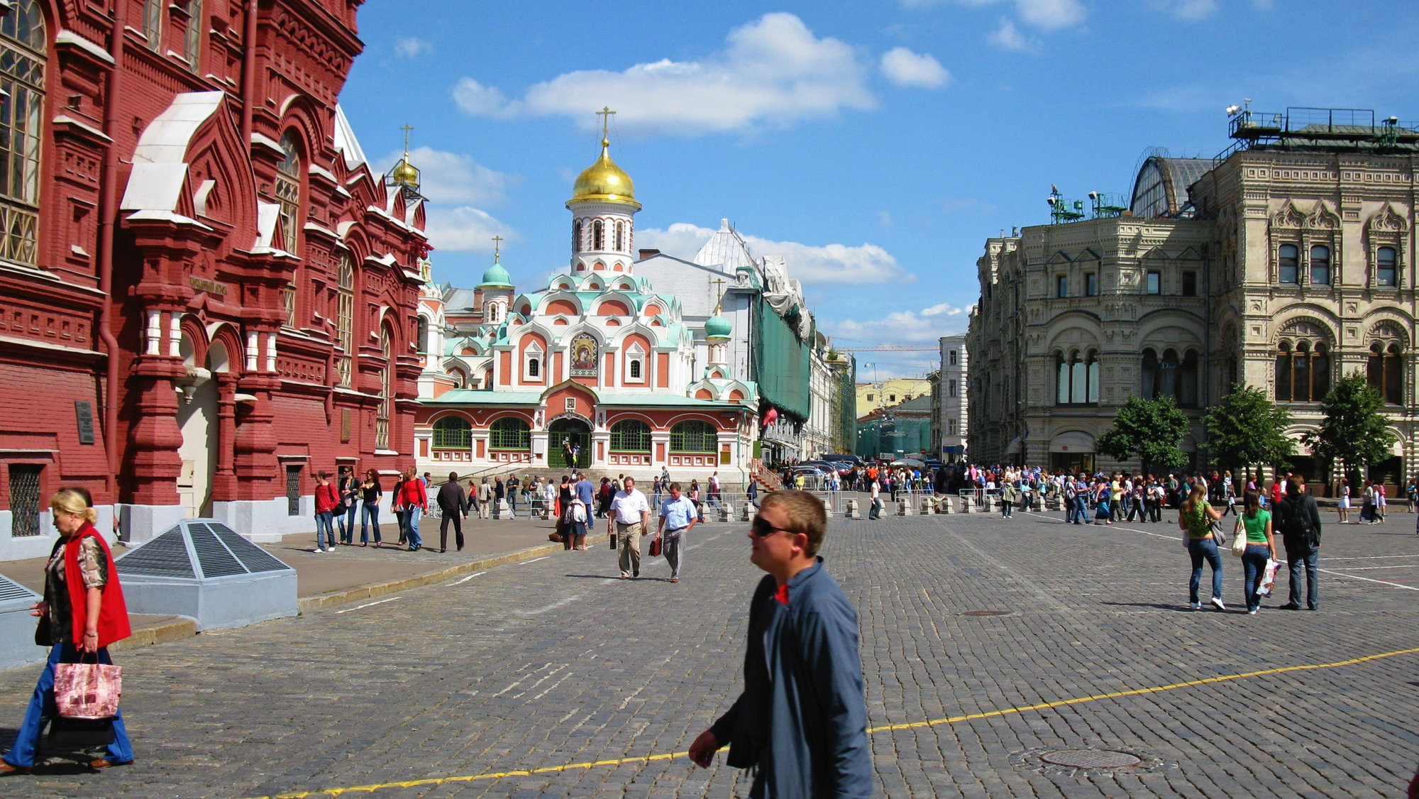Why Red Square was called Red 99
