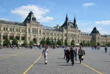 торговый дом ГУМ занимает большую часть площади