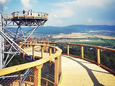 vyhlídková věž Bojnice