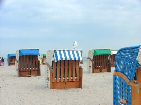 beach sheds (Warnemünde)