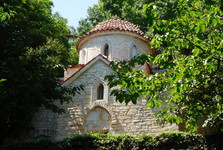 Balčik – botanická zahrada – kostel
