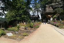 кладбище замка