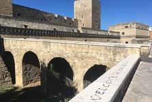 hrad Castello Normanno Svevo