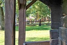 деревянный костел - Тополя
