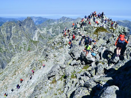 na vrcholu Rysů (2 503 m n. m.)