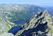 polská část Tater – dolina Rybiego Potoku