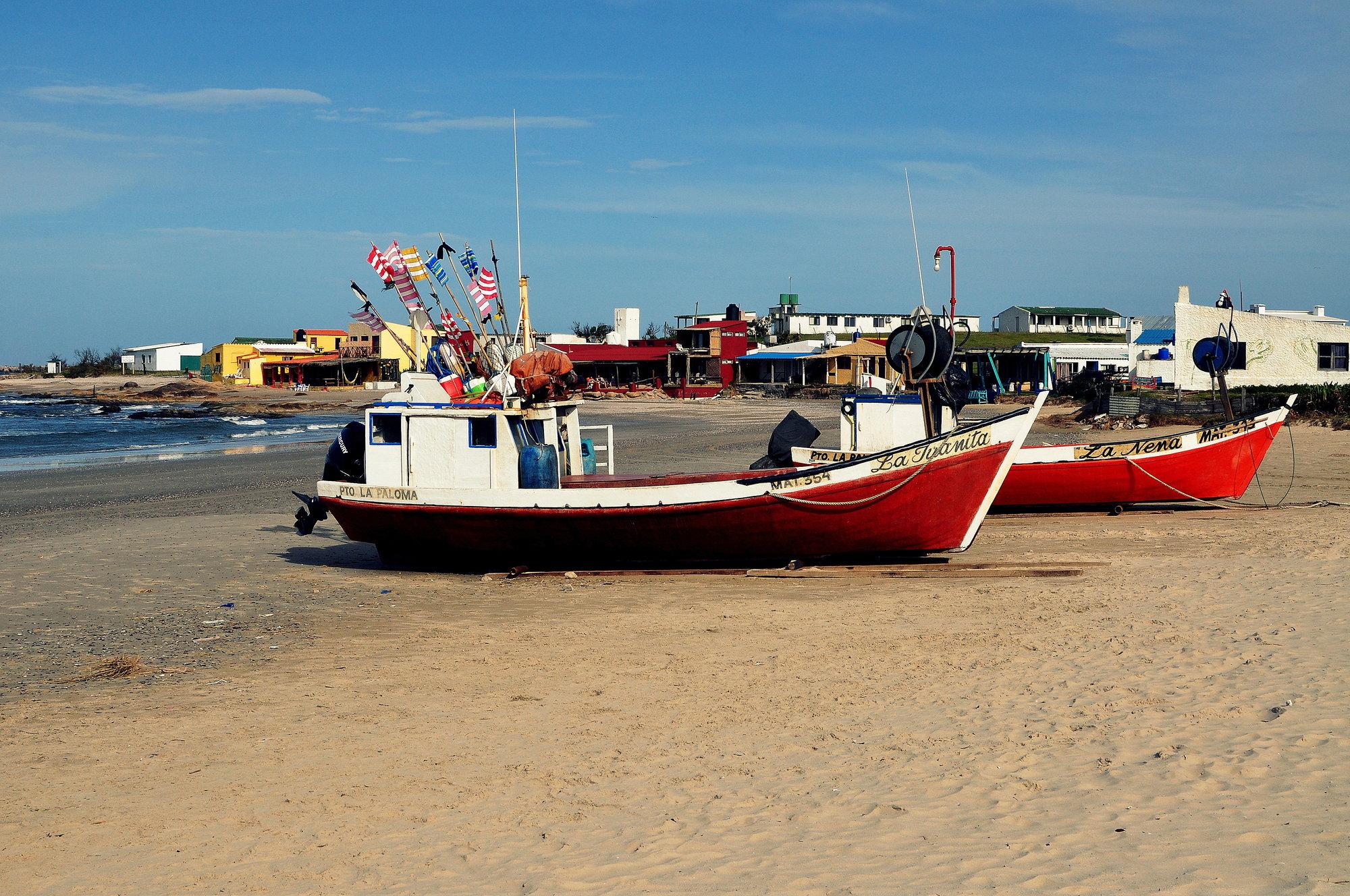 pláž La Calavera