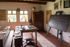 деревенская школа в музее под открытым небом