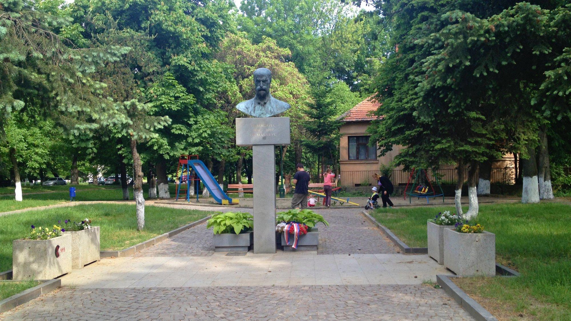памятник Т.Г.Масарика