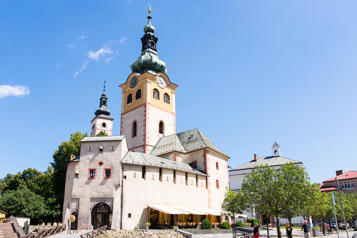 areál Městského hradu
